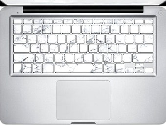 Marble keyboard skin | Etsy