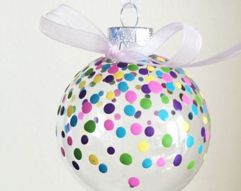 Dotted Christmas Tree Ornament