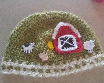 Crochet Farm Hat