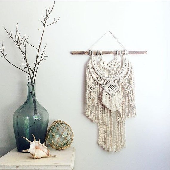 Macrame Kit Weave Wall Hanging Diy Including By