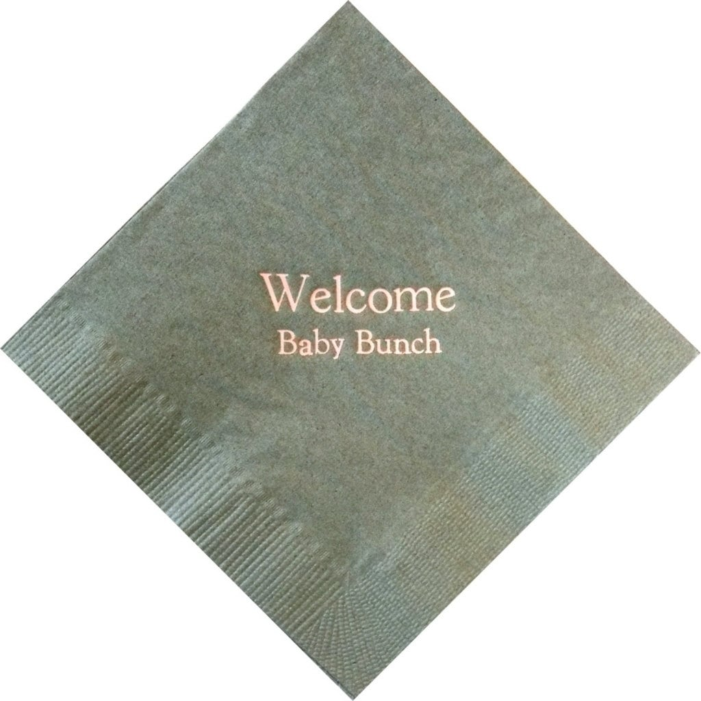 Cheap Guest Towels: Personalized Napkins Baby Shower Cheap Napkins By