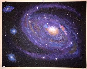 Small Spiral Galaxy