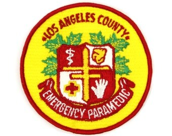 Los Angeles County EMT Vintage Patch