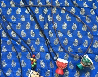hand made djembe necklaces