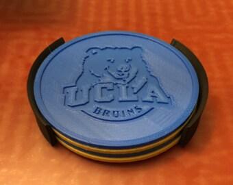 UCLA 3D Printed Coaster Set