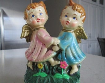 Angels Musical Figurine Made In Japan