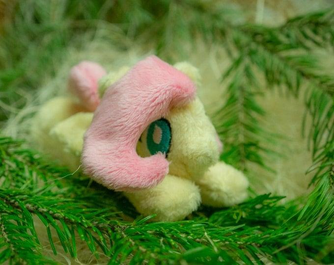 """My Little Pony Fluttershy Plush toy tiny 5"""" minky"""