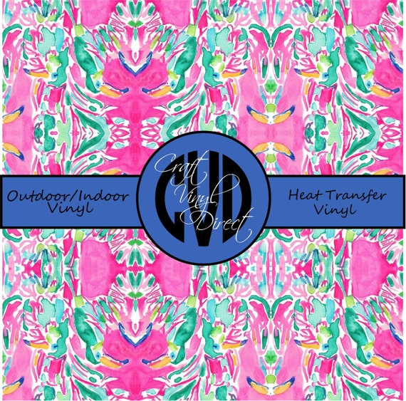 Beautiful Vibrant Patterned Craft Vinyl And Heat Transfer