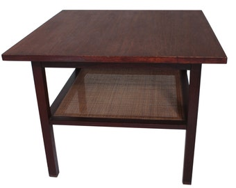 Mid-Century Tiered Side Table