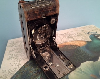 When film cost money....vintage vest pocket Kodak camera