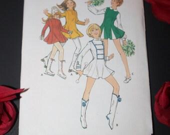 Vintage Butterick Cheerleading costume pattern size 10