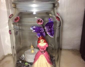 ariel/ belle sparkle jars