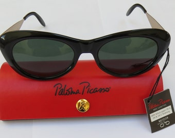 Vintage Paloma Picasso Sunglasses - New with Original Case - 1980's