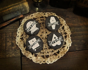The Conjurers Button Pin Pack