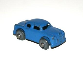 Vintage 1940's BARCLAY Blue Slush Lead 1 1/2 Inch Long Cars for Auto Transporter