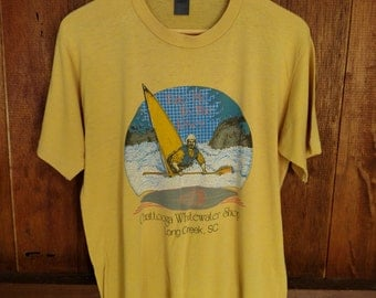 Vintage 80's Chattooga Whitewater Jerzees