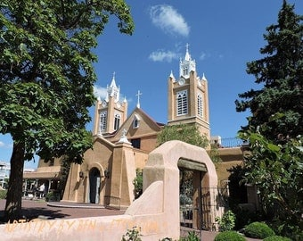 New Mexico Historic Church ( San Felipe de Niri )