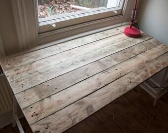 Made to Order: Handmade Reclaimed Wooden Desk