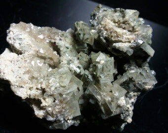 Association of barite and pyrite from the Gard