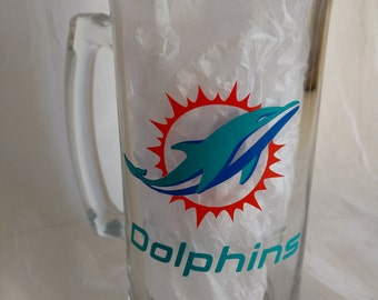 Miami Dolphins Beer Stein