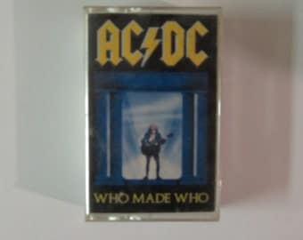"""AC/DC """"Who Made Who"""" Cassette 1986"""