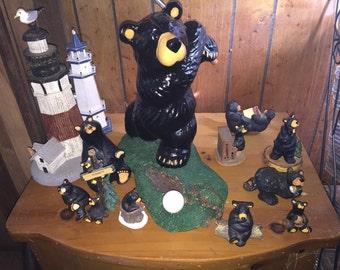 Golfing Bear set