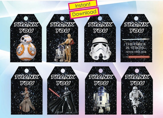 Instant DL Star Wars thank you Tags The force awakens Star
