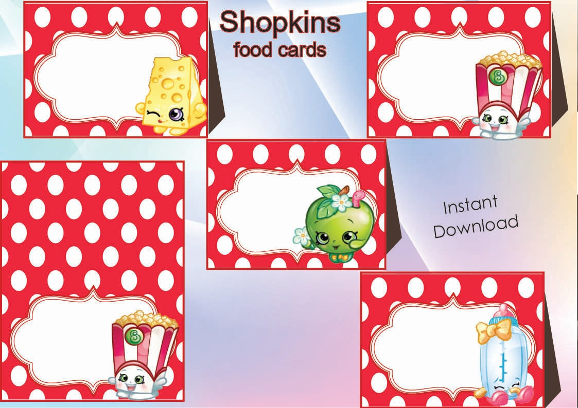 It is a picture of Geeky Free Printable Shopkins Food Labels