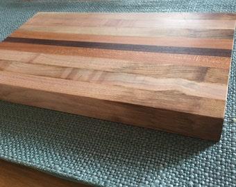 Three Wood Cutting Board