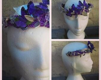 The color purple, crown