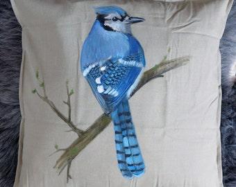 Bird dreams pillow