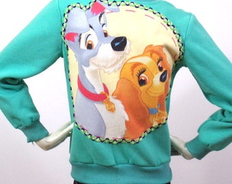Sportswear green Pattern Lady and the Tramp Size S / M