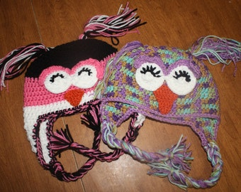Happy Owl Hat