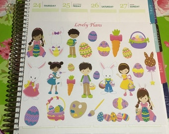 Planner Stickers: Easter Theme Stickers