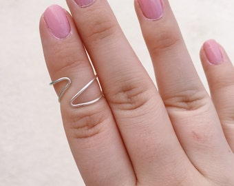 Triangle Ring, Geometric Ring, Abstract Ring, Artsy Ring