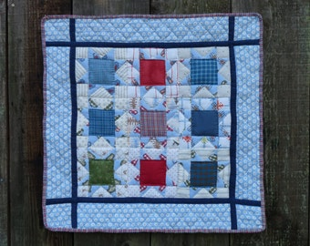 "Winter Blues Star Wall Hanging  24.5"" x 24"""
