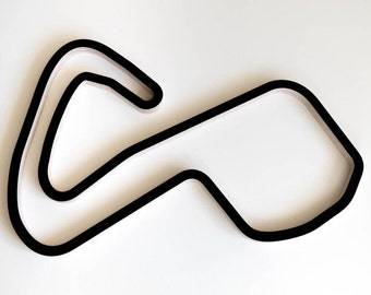 Brands Hatch GP Circuit BTCC Wooden Racing Track Replica Wall Art Sculpture