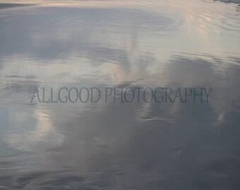 Reflections in the Sand, Daytona Beach, Florida, Abstract, Seashore, Seaside