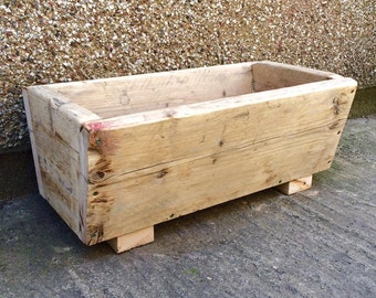 Reclaim timber planter/garden planter/pots