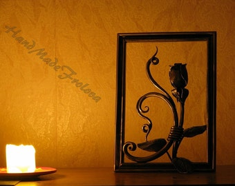 Metal Art, Exclusive, roses, forged paintings, high quality interior design, forging,
