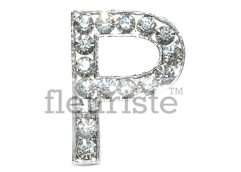 Letter p rhinestone bulk metal rhinestone rhinestone for Bulk letters