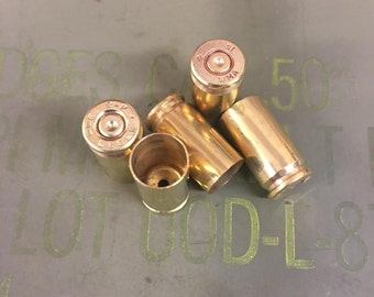 Bulk 9mm Recycled Brass Bullet Casings - Polished or Unprocessed - 500 and 1000 Count Available for Reloading or Craft