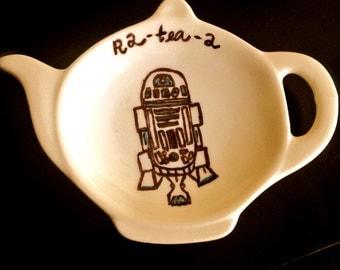 R2D2 Tea Bag Rest