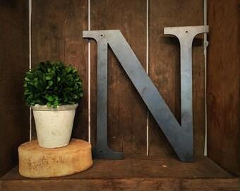 """Metal Letter - """"N"""""""