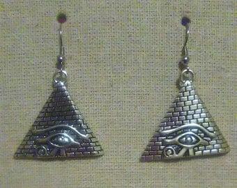 Eye of Providence Earrings