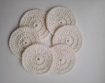Face scrubbers,crochet face scrub,reusable face scrub,wash scrub