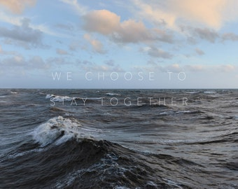 We Choose To Stay Together - Ltd Edition Original Art