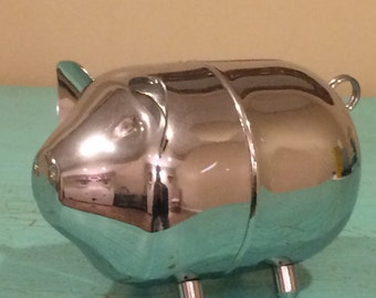 Stainless Piggy Bank