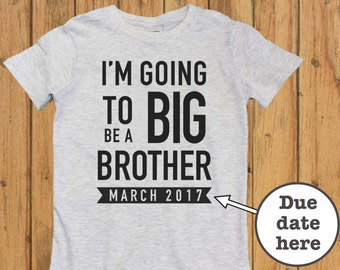 i am going to be a big brothers shirt, big brother announcement shirt, big brother, big brother t shirt, baby shower gift. big brother gift