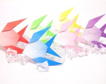 Origami Paper Angel Fish, Angel Fish, Origami 24 Angel Fish, Origami Fish